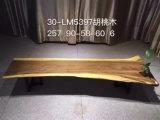 Escritorio de escritura de madera modificado para requisitos particulares de la nuez negra del OEM para el hogar (CG-001)