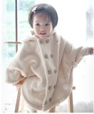 Naturaleza Color Baby Cloak Clothes con Imitation Lamp Plush
