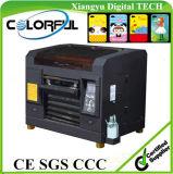 A3 macchina a base piatta UV della stampante del piccolo getto di inchiostro da tavolino LED