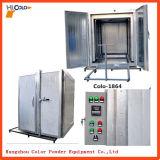 Cabina e forno del sistema della macchina della pittura della polvere
