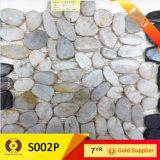 Fomento de la decoración de materiales del río piedra del adoquín (S001)