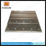 Corc-G, das Streifen mit Verbundschiebender Zwischenlage-Bett-Stahlplatte schiebt
