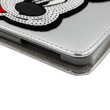 Het Hoofd van Mickey met de Gevallen van de Functie PU/Leather van de Slaap voor iPad
