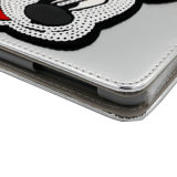 iPad를 위한 잠 기능 PU/Leather 케이스를 가진 Mickey 헤드