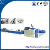Plastik-Belüftung-Profil-Extruder, der Maschine herstellt