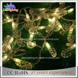クリスマスの装飾ライト休日ライト20m接続可能な180 LED 230V IP44屋外PVCケーブル2700kは白いLEDストリングライトを暖める