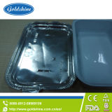 航空会社のアルミホイルの食糧皿F31072