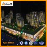 El edificio comercial modela /Project que construye los modelos de la exposición/el modelo modelo del International de Wuzhou