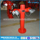 Pfosten-Feuer-Hydrant, 2 Möglichkeits-Feuer-Hydrant, nasser Typ Feuer-Hydrant