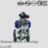 JIS 2PC Flange Platform Stainless Steel Industrial Electric Ball Valve