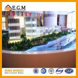 Modelos da exposição dos modelos do edifício/modelo comerciais edifício do projeto