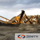 High Performance Concassage Line, Machines Quarry avec grande capacité