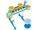 O brinquedo elétrico luxuoso caçoa o órgão eletrônico do brinquedo com cadeira (H0072028)