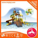 Im Freienwasser-Park-Geräte für Unterhaltung