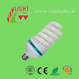 가득 차있는 나선 CFL 에너지 절약 램프 (VLC-FS-55W) E27