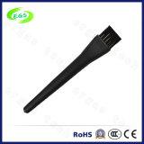 Anti-estático Ronda Negro tacto suave PP / PA cepillo especial