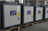 Calefacción central eléctrica Save70% Cop4.23 R410A 12kw, 19kw, 35kw, 70kw, 105KW 380voutlet 60 grados. Función Multi C ACS Calentador Bomba de calor