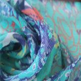 Digital-Drucken für 8mm Windung-Georgette-Silk Gewebe