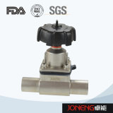 Valvola a diaframma pneumatica del commestibile dell'acciaio inossidabile (JN-DV1001)