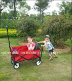 Das Mac Sports Folding Wagon in Red/Folding Cart