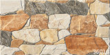 Outdoor en céramique Rustic Parquet Stone Exterior Wall Tile (300X600mm)