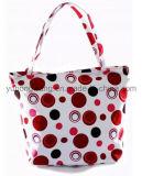 Sacchetto di Tote della tela di canapa di promozione, sacchetto della spiaggia di acquisto del cotone