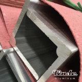 Алюминиевый профиль/просто алюминиевая штанга штрангя-прессовани с прямоугольным