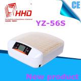 Incubatrice del pollo delle uova di controllo di temperatura automatica di Hhd 56
