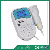 Venda quente aprovada Doppler Fetal ultra-sônico Pocket portátil barato médico de CE/ISO (MT01007003)