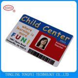 Cartão plástico do presente do VIP do cartão da impressão do cartão