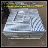 Couvertures discordantes professionnelles de fossé de plaque en acier de constructeur
