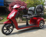 Deluxe Double Saddlesの500With800W Disabled Electric Tricycle