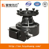 para el motor con engranajes de centro G75-43 de la impulsión de centro del sistema de irrigación del pivote, 0.75HP, caja de engranajes de la irrigación 0.55kw