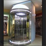 Het sightseeing van Lift van het Glas van het Toerisme van 4 Mensen snel de Transparante