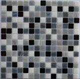 Mosaico de Cristal del Color Mezclado, Un Material de Construcción para los Pobres de la Natación