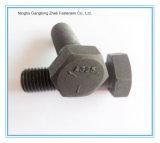 炭素鋼の重い六角頭のボルト(DIN933/DIN931/A325/A490)