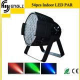 Luz de la IGUALDAD de RGBW 54PCS LED con el efecto de la colada (HL-033)