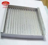 Panneaux en aluminium solides blancs comme le lait de constructeur professionnel pour le plafond