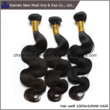 Extensões super do cabelo humano de americano africano da qualidade 100%