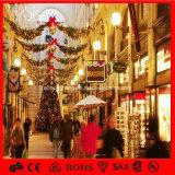 [س] عيد ميلاد المسيح زخرفة ضوء إكليل يعلق خفيفة مركز تجاريّ زخرفة ضوء
