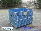 Heavy Duty Wire Mesh Container voor opslag in het magazijn