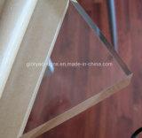 Folha acrílica elevada de Transaprent 1mm e placa acrílica para a decoração