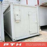 Chambre préfabriquée de conteneur pour la pièce d'entreposage au froid