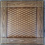 Comitato di parete di cuoio dell'unità di elaborazione del lusso 3D per la decorazione (HS-MK004)