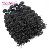 Перуанские волосы девственницы, фасонируют итальянский курчавый Weave человеческих волос, цвет йБ