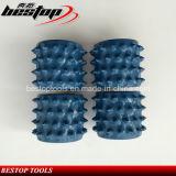 Rolinho martelado de diamante de 60 dentes para fabricação de superfície Lichi