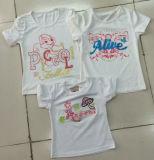子供の女の子のTシャツ(SV-018)の方法女の子のベスト