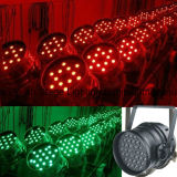 Diodo emissor de luz Lidht do diodo emissor de luz PAR 36 DJ Light do RGB 3W Indoor Stage