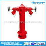 消火栓、消火栓弁、柱の給水栓