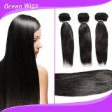 Tessuto dei capelli umani di 100 Remy, estensione naturale brasiliana dei capelli di Remy